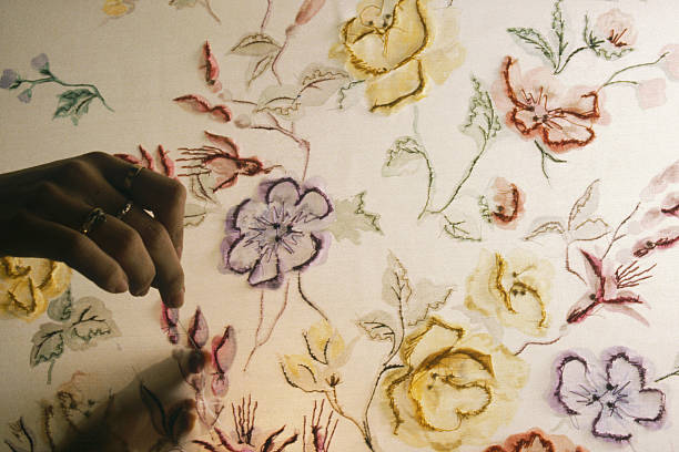 Franois Lesages Embroidery Workshop Pictures Getty Images