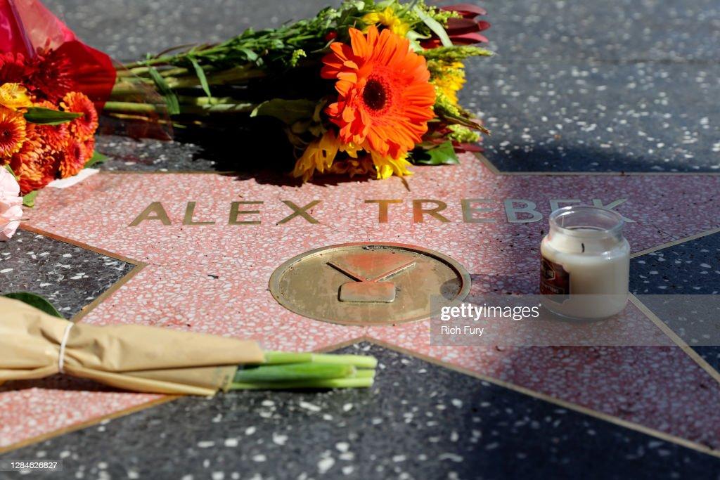 "Hollywood Remembers ""Jeopardy!"" Host Alex Trebek : News Photo"