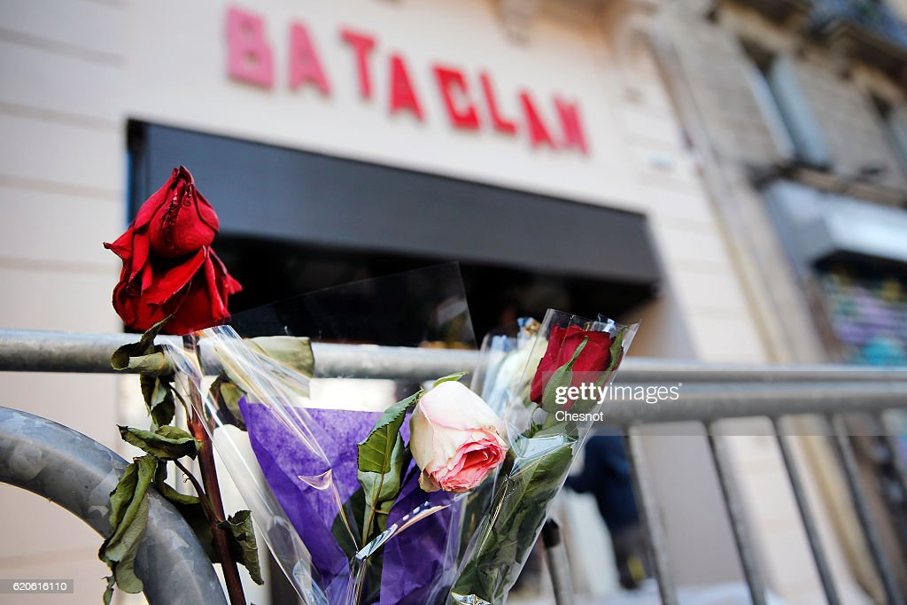The Bataclan One Year After - Illustration : News Photo
