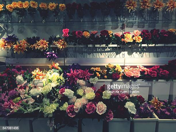 Flowers At Flower Shop