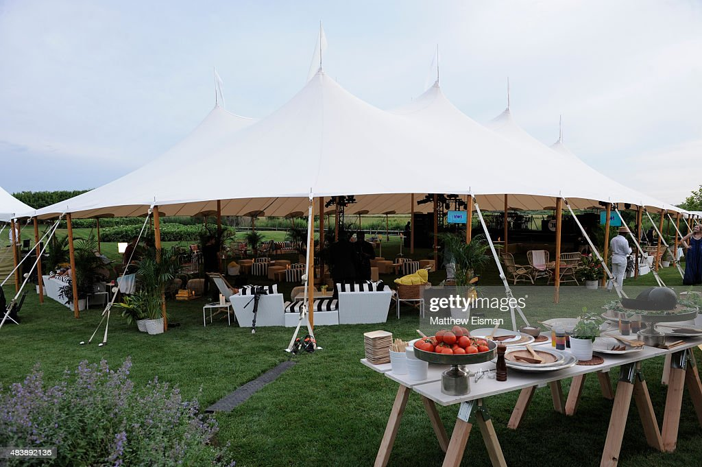 Flowers at VH1 Save The Music Foundation's Hamptons Live benefit were provided by Jack & Rose Florist, a local Long Island-based floral design studio, August 8, 2015 in Sagaponack, New York.