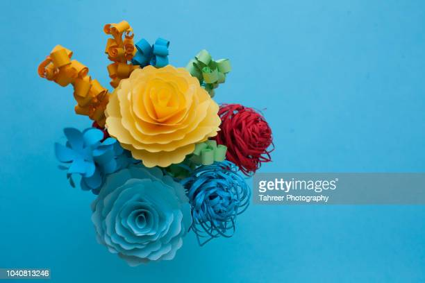 Flowers bouquet origami