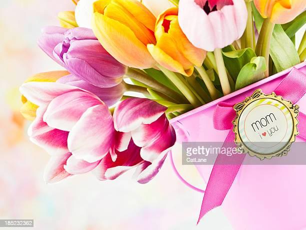 Blumen für Muttertag oder Geburtstagsfeiern