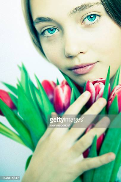 """flowers for you! - """"martine doucet"""" or martinedoucet stock pictures, royalty-free photos & images"""