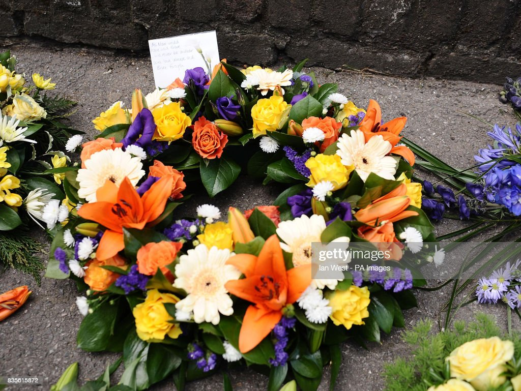 Flowers From Bruce Forsyth And His Wife Wilnelia Merced At The