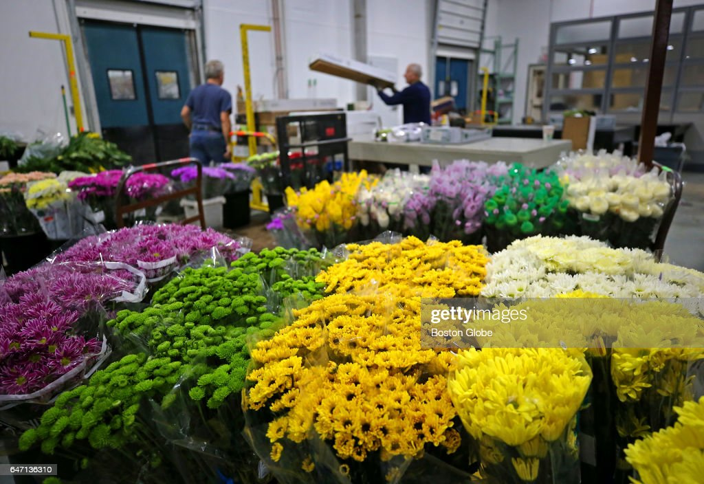 First Day Of Business At New Location For England Flower Exchange News Photo