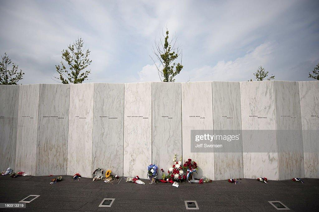 Commemorative Service Held At Flight 93 National Memorial In Shanksville : News Photo