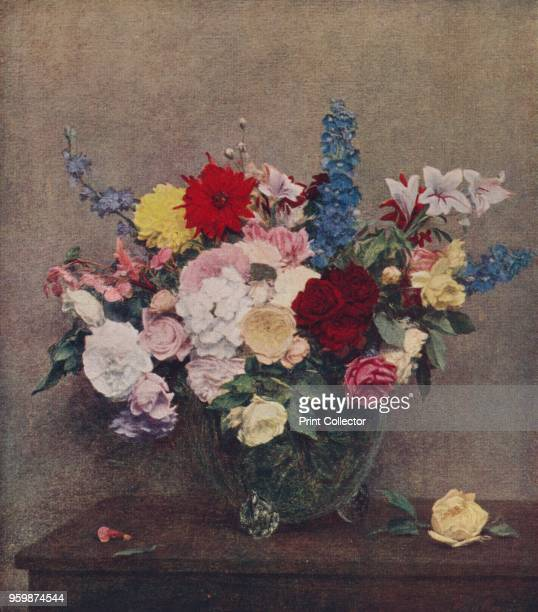 Flowers' Held by the National Gallery London From International Art Past and Present by Alfred Yockney [Virtue Company London circa 1915] Artist...