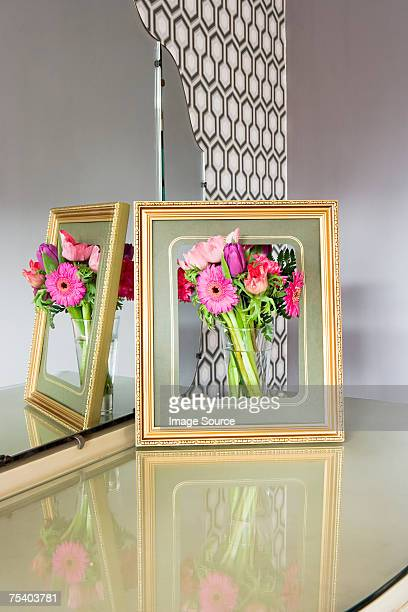 Flowers in a picture frame