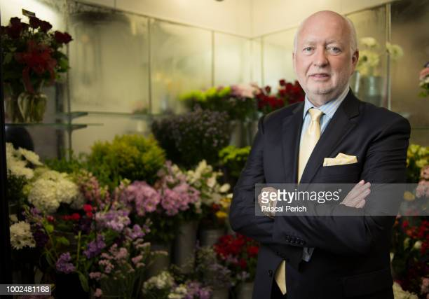 Flowers James F Mccann is photographed for the Financial Times on June 28 2016 in Long Island New York