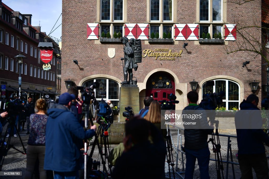 The Day After The Muenster Attack : News Photo