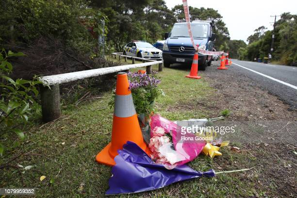 Flowers left as a tribute to Grace Millane on December 10 2018 in Auckland New Zealand The body of 22yearold Grace Millane was found in a section of...