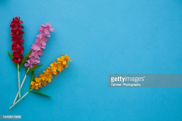 Flowers paper art