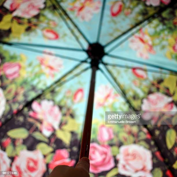 Flowers pattern  Umbrella