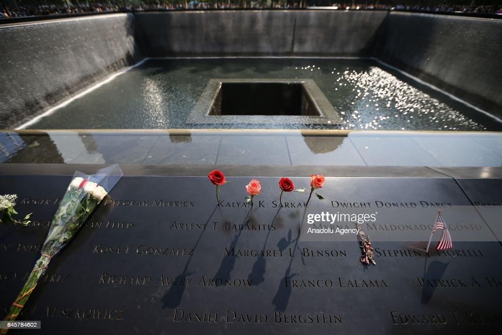 9/11 Memorial in New York : News Photo
