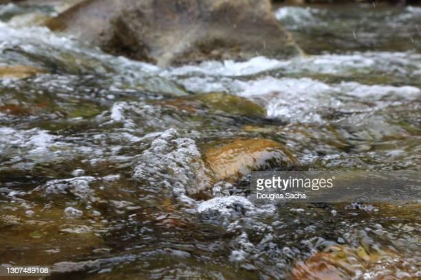 flowing spring water - 湧水 ストックフォトと画像