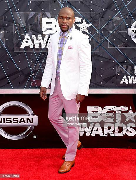Floyd Maywather attends the 2015 BET Awards on June 28 2015 in Los Angeles California