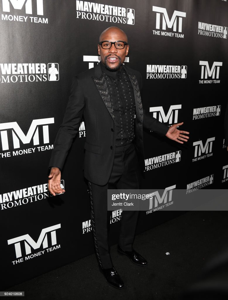 Floyd Mayweather's 41st Birthday Party
