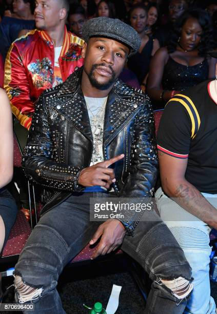Floyd Mayweather attends the 2017 Soul Train Awards presented by BET at the Orleans Arena on November 5 2017 in Las Vegas Nevada