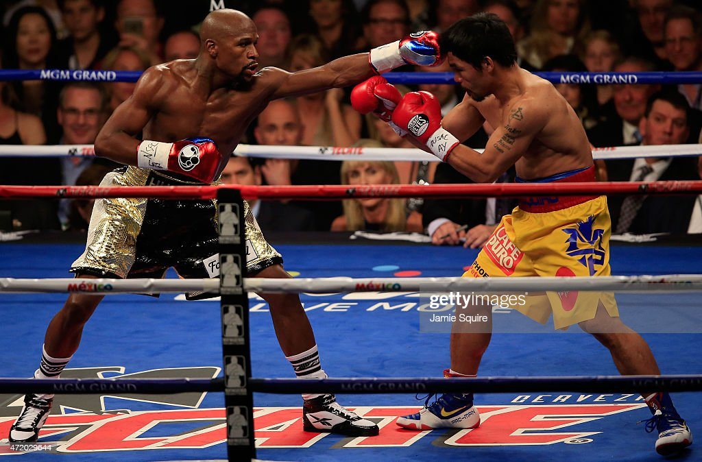 Floyd Mayweather Jr. v Manny Pacquiao : News Photo