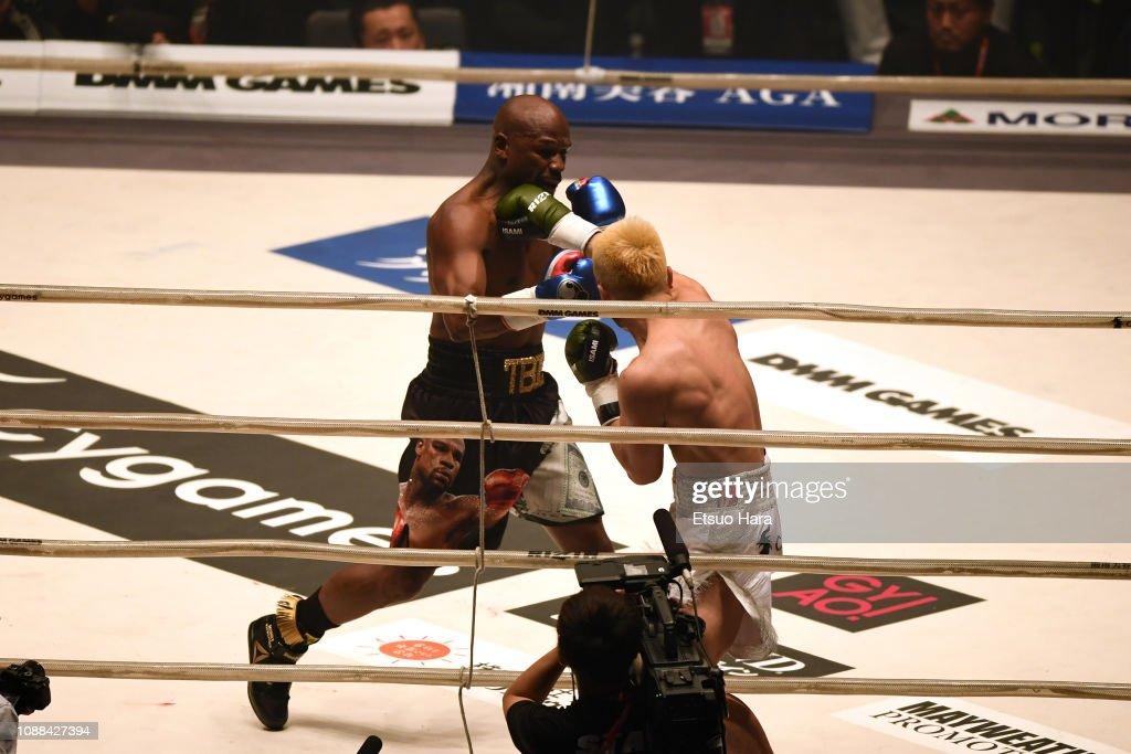 Floyd Mayweather vs Tenshin Nasukawa - RIZIN.14 : ニュース写真