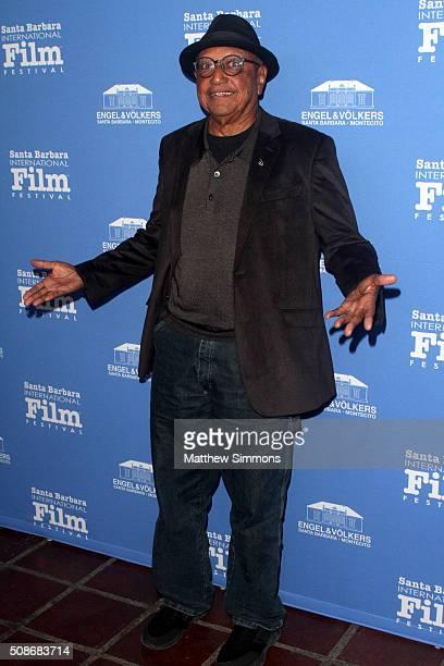 Floyd Norman attend the American Riviera Award at the Arlington Theater at the 31st Santa Barabara International Film Festival on February 5 2016 in...