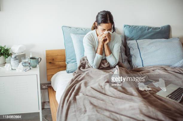 flu attack - pneumonia stock pictures, royalty-free photos & images