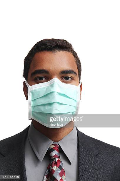 flu mask - flu mask stock photos and pictures