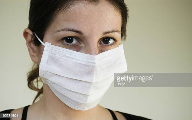 flu mask - nurse mask stock pictures, royalty-free photos & images
