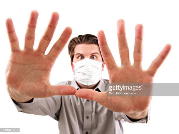 Masque anti-grippe homme