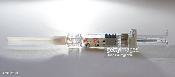 Flu prefilled syringe with influenza vaccine