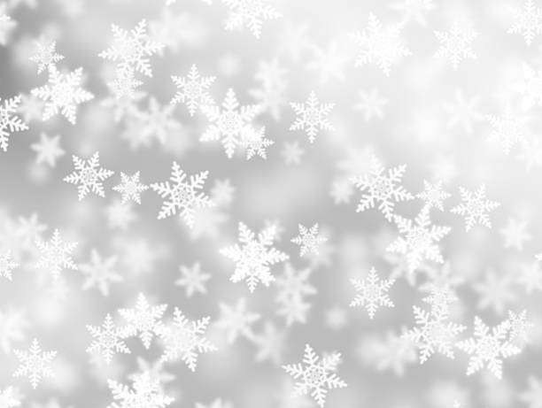 Fluffy Snowflakes Wall Art