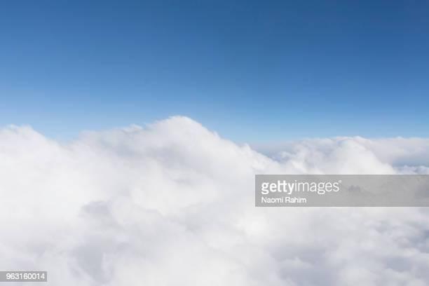 Fluffy White Cumulus Clouds