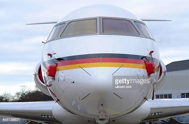 Flugbereitschaft BMVg Bombardier Global 5000die vier Flugzeuge des kanadischen Flugzeugherstellers Bombardier sind mit einer VIPKabine für kleinere...