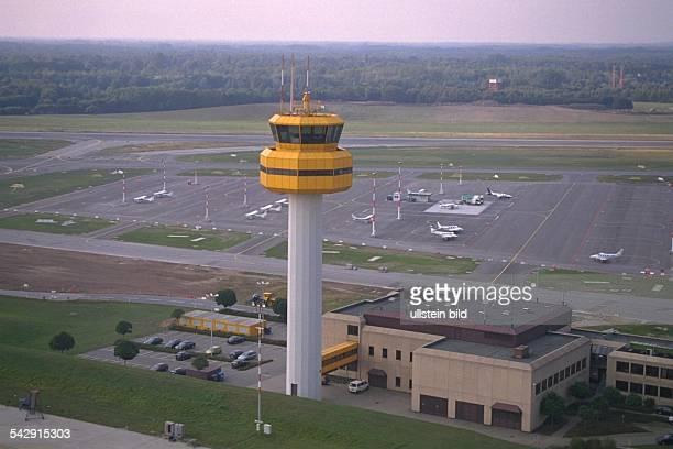 Tower des Hamburger Flughafens