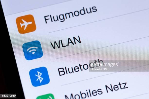 Flugmodus WLAN auf Bluetooth