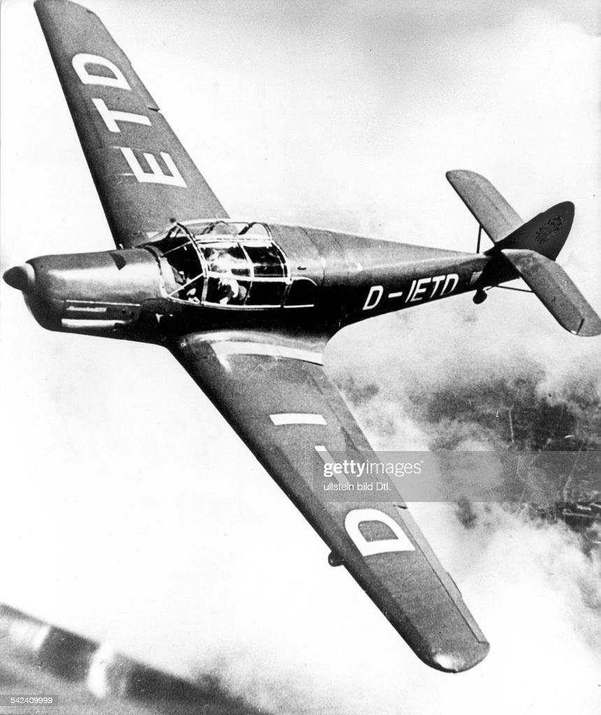 Flugzeuge Deutschland, Messerschmitt Bf 108 :- ME 108 Taifun
