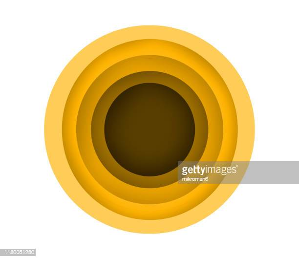 fluid paper cut out colorful background - circle stock pictures, royalty-free photos & images