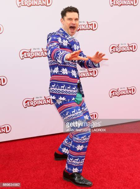 Flula Borg attends the screening of 20th Century Fox's 'Ferdinand' in Los Angeles California on December 10 2017 / AFP PHOTO / JEANBAPTISTE LACROIX