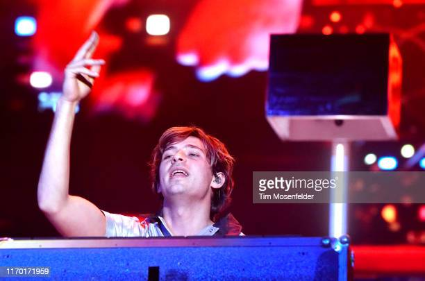 Flume performs during 2019 Lollapalooza at Grant Park on August 04 2019 in Chicago Illinois