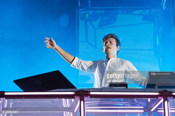 Flume performs live at Austin City Limits Festival at Zilker Park on October 7 2016 in Austin Texas