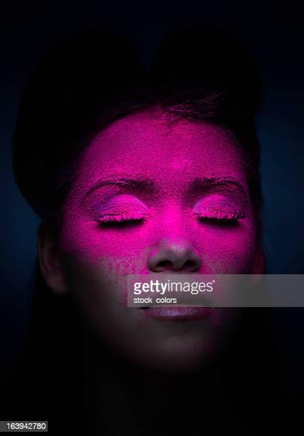 fluorescent makeup