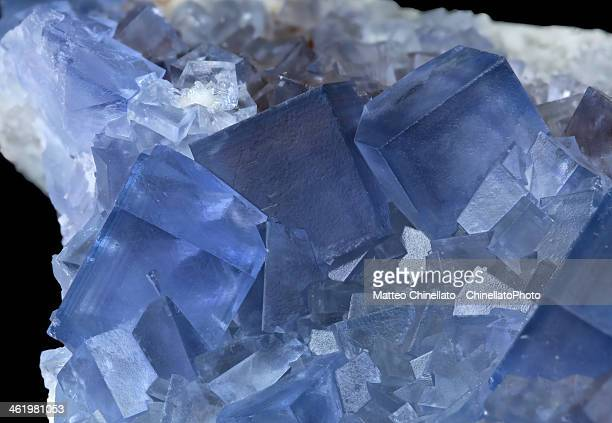 fluorite mineral - fluorite stock pictures, royalty-free photos & images