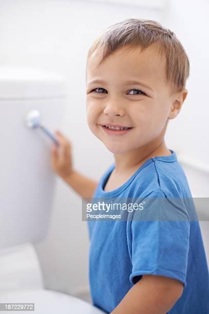 Flushing away mom's potty training worries