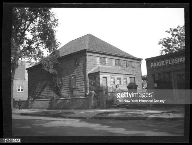 Hicksite Quaker Meeting House south side of Broadway west of Union Street New York New York 1922