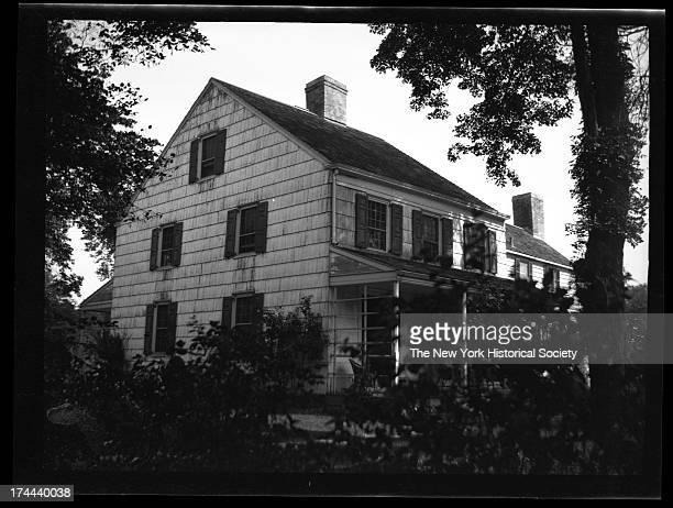 John FB Mitchell House southeast corner of Whitestone Avenue and Bayside Avenue Built 1780 by Col Archibald Hamilton New York New York 1922