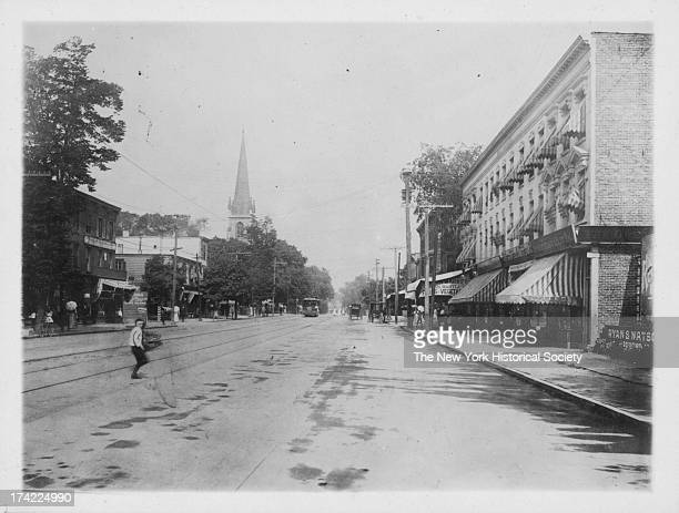 Main Street New York New York early to mid 1920s