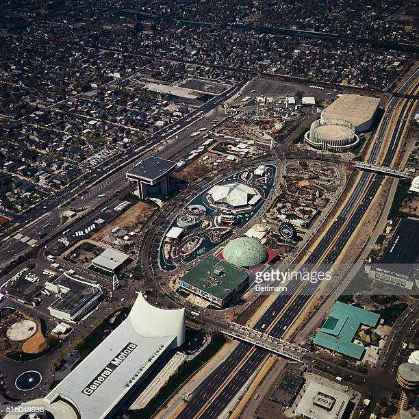 Aerial views of the 196465 World's Fair