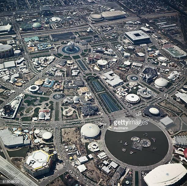 Aerial views of the 196465 World's Fair