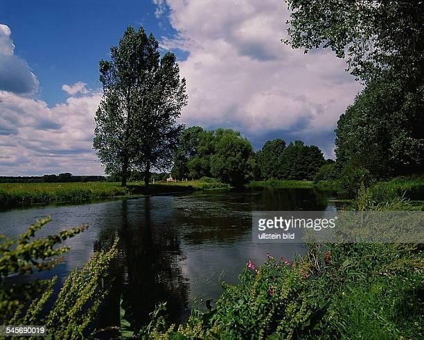 Flussniederung- 1991
